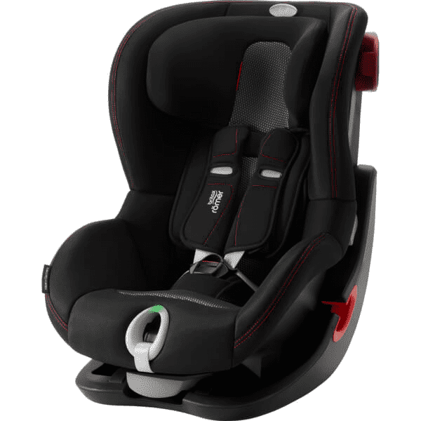 Britax Romer King II LS Cool Flow - Black Black frame Bērnu autosēdeklis 9-18 kg