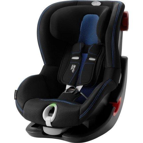 Britax Romer King II LS Cool Flow - Blue - Black frame Bērnu autosēdeklis 9-18 kg