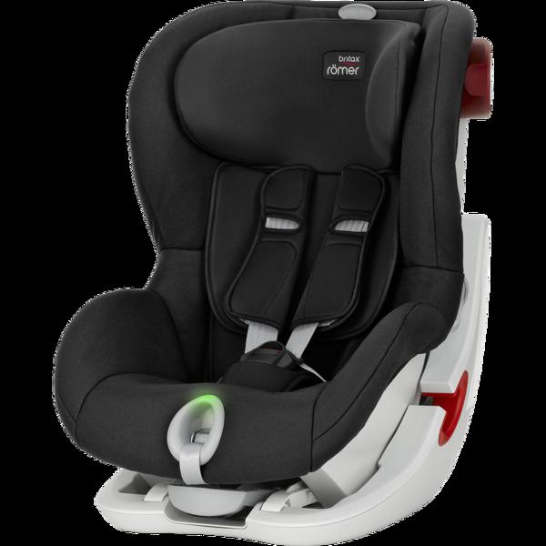 Britax Romer King II LS Cosmos Black White frame Bērnu autosēdeklis 9-18 kg