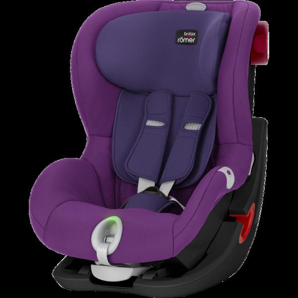Britax Romer King II LS Mineral Purple Black frame Bērnu autosēdeklis 9-18 kg