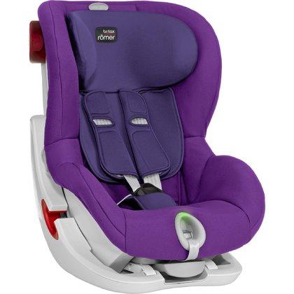 Britax Romer King II LS Mineral Purple White frame Bērnu autosēdeklis 9-18 kg