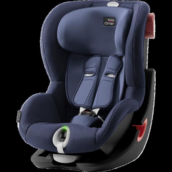 Britax Romer King II LS Moonlight Blue Black frame Bērnu autosēdeklis 9-18 kg