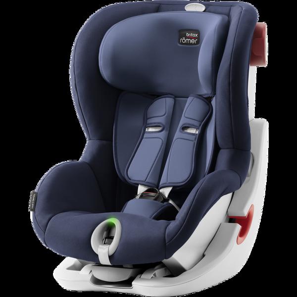 Britax Romer King II LS Moonlight Blue White frame Bērnu autosēdeklis 9-18 kg