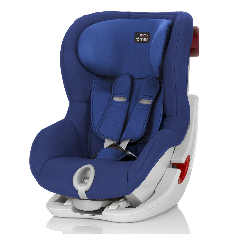 Britax Romer King II LS Ocean Blue White frame Bērnu autosēdeklis 9-18 kg