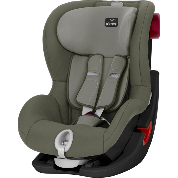 Britax Romer King II LS Olive Green Black frame Bērnu autosēdeklis 9-18 kg