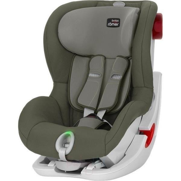 Britax Romer King II LS Olive Green White frame Bērnu autosēdeklis 9-18 kg