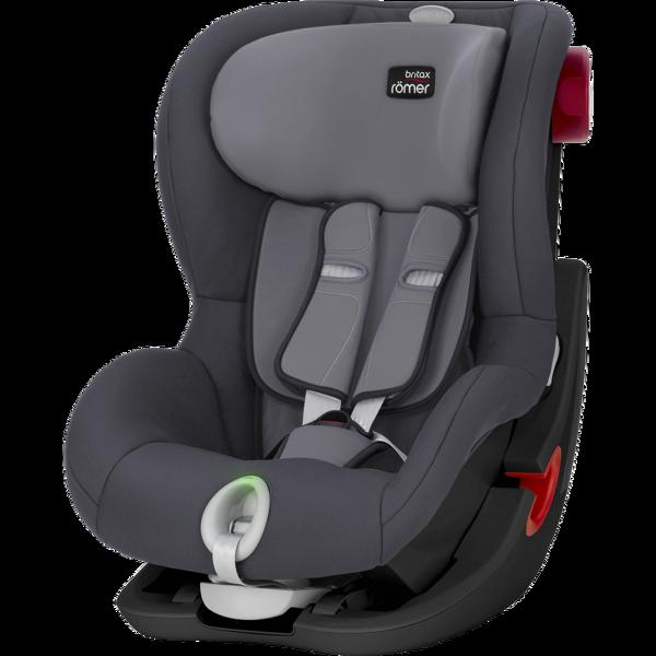 Britax Romer King II LS Storm Grey Black frame Bērnu autosēdeklis 9-18 kg