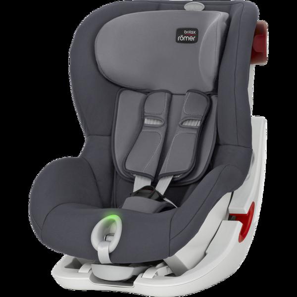 Britax Romer King II LS Storm Grey White frame Bērnu autosēdeklis 9-18 kg