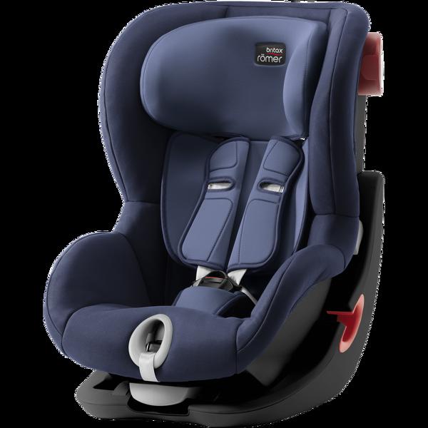 Britax Romer King II Moonlight Blue Black frame Bērnu autosēdeklis 9-18 kg