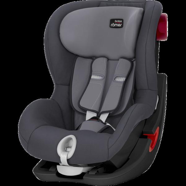 Britax Romer King II Storm grey Black frame Bērnu autosēdeklis 9-18 kg
