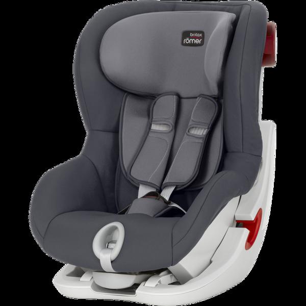 Britax Romer King II Storm Grey White frame Bērnu autosēdeklis 9-18 kg