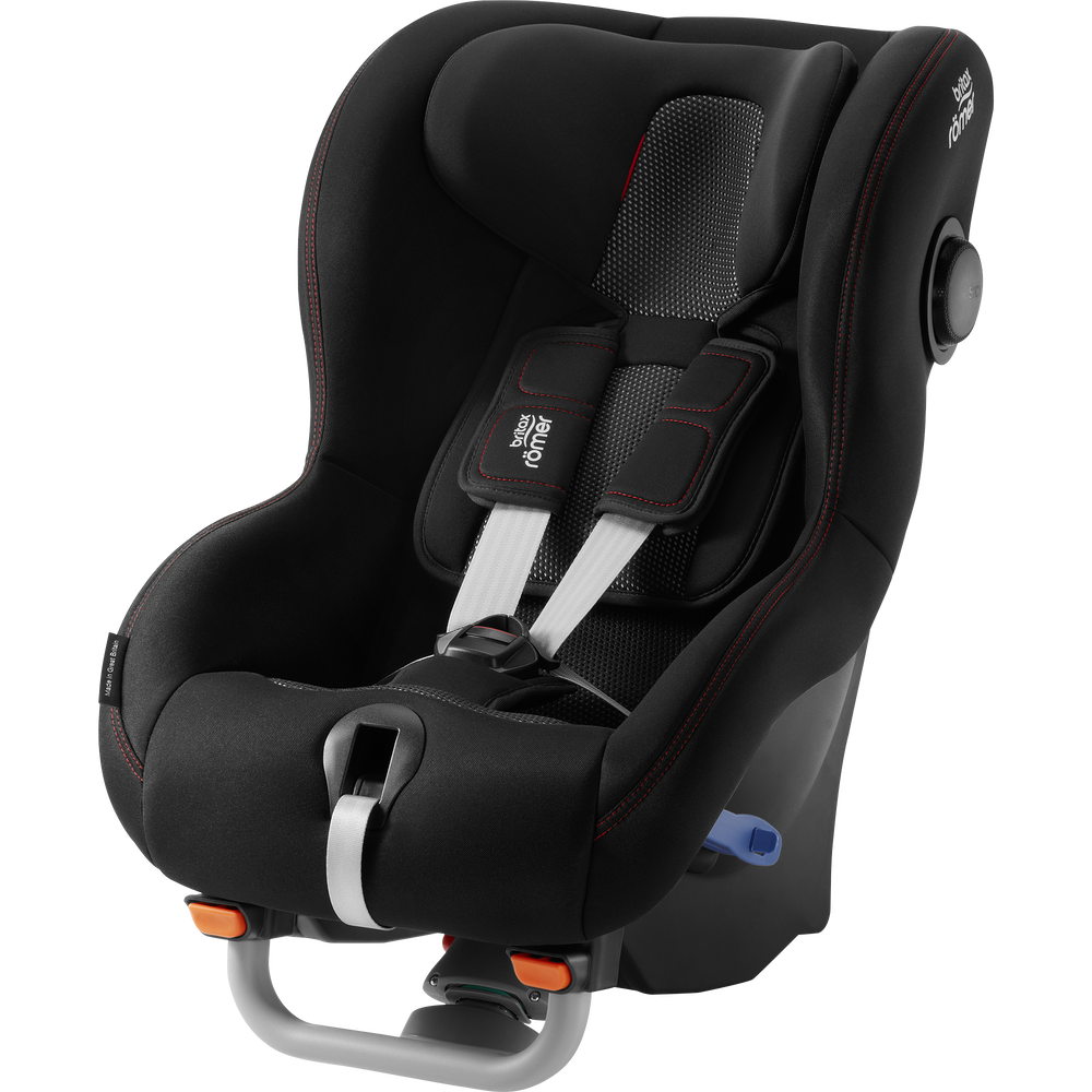 Britax Romer Max-Way Plus Cool Flow - Black Bērnu autosēdeklis 9-25 kg