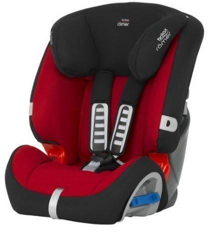 Britax Romer Multi-Tech II Flame red Bērnu autosēdeklis 9-25 kg