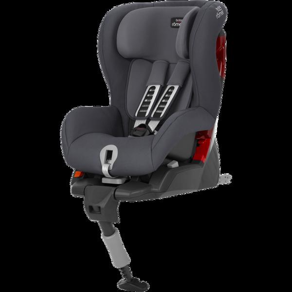Britax Romer Safefix Plus Storm grey Bērnu autosēdeklis 9-18 kg