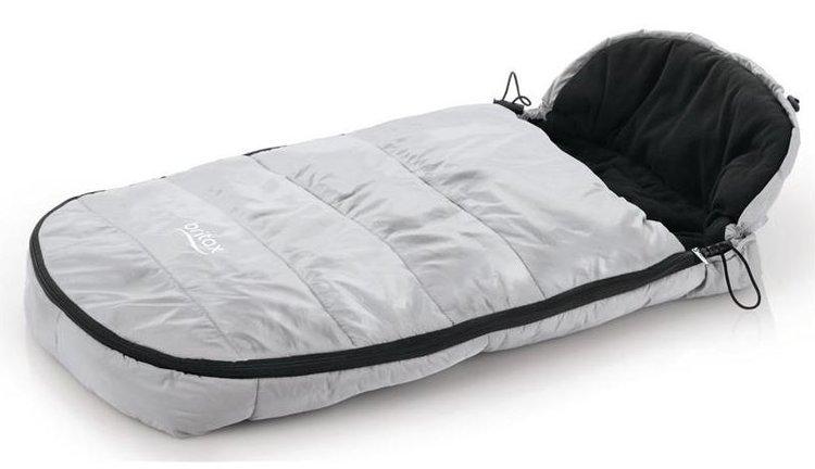 Britax Romer Shiny Silver Universālais Bērnu ratu guļammaiss