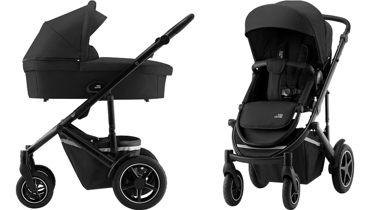 Britax Romer Smile 3 Space Black Bērnu rati 2in1