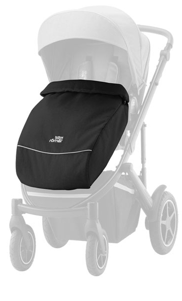 Britax Romer Smile 3 Space Black kāju pārsegs ratiem