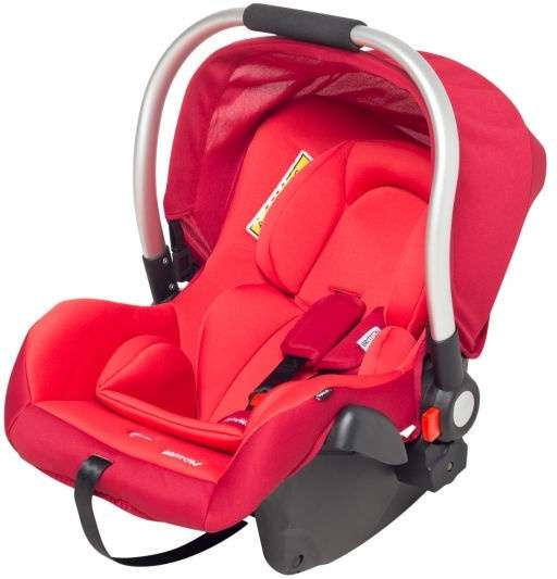 Britton BabyWay Bērnu autosēdeklis 0-13kg Rumba Red