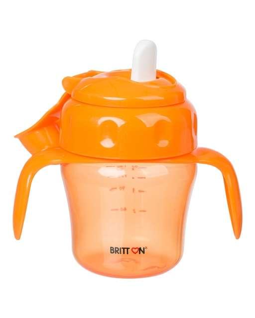 Britton Non-spill Soft Spout Cup Neizlīstoša krūze ar mīksto uzgali 150 ml