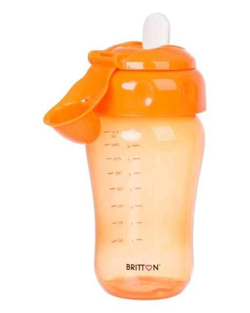 Britton Non-spill Soft Spout Cup Neizlīstoša krūze ar mīksto uzgali 270 ml