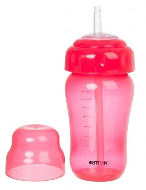 Britton Non Spill Straw Cup Krūzīte ar salmiņu 270 ml