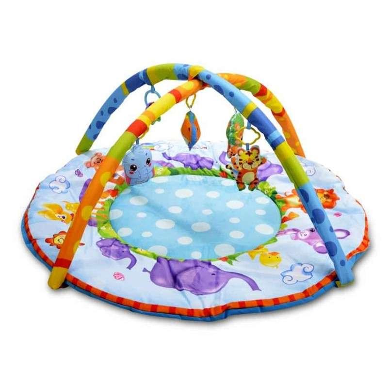 Britton® Play mat Elephants Bērnu Attīstošais Paklājiņš 0+