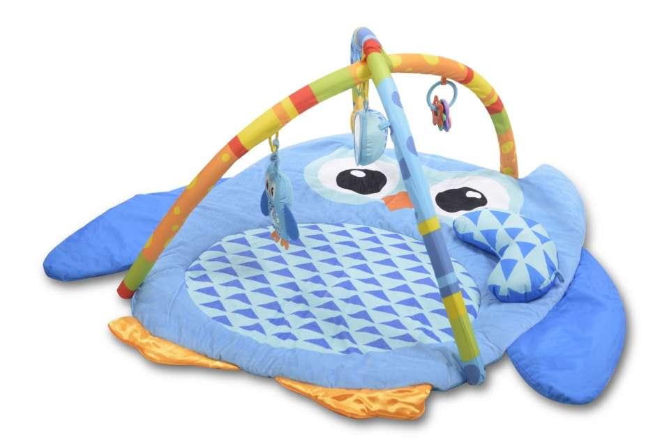 Britton® Playmat Owl Bērnu Attīstošais Paklājiņš,  0+