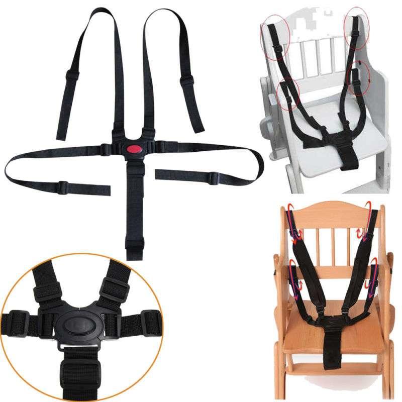 Britton White Drošības siksnas barošanas krēslam