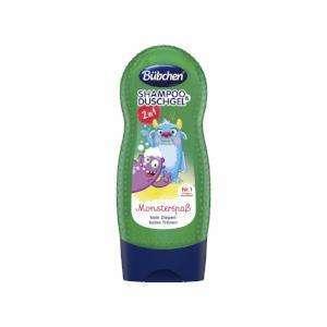 Bubchen Monsterspab Šampūns un dušas putas bērniem 230ml