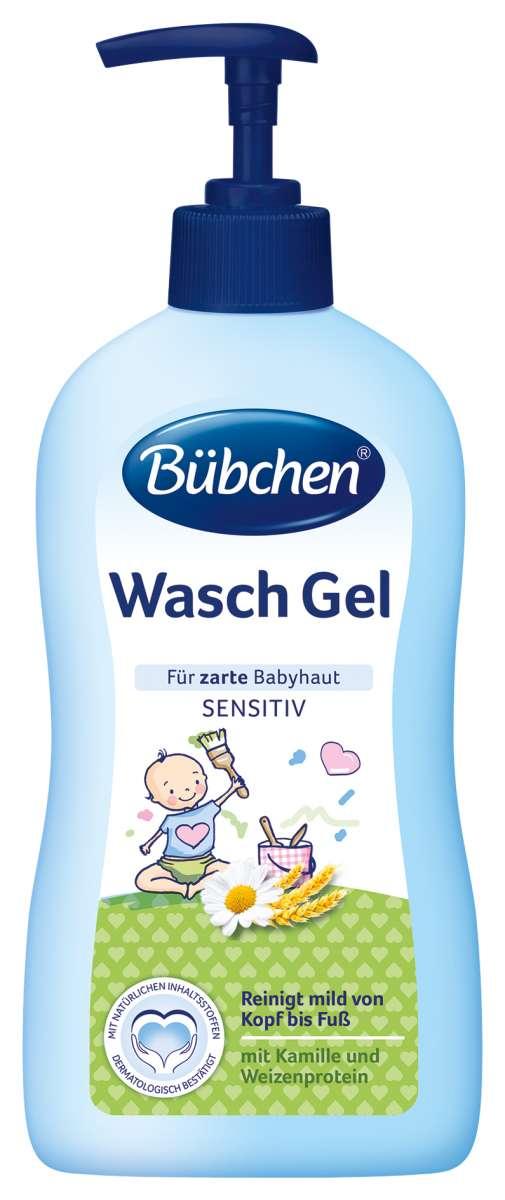 Bubchen Wash Gel Gēls ar kumelīšu ekstraktu zīdaiņa mazgāšanai