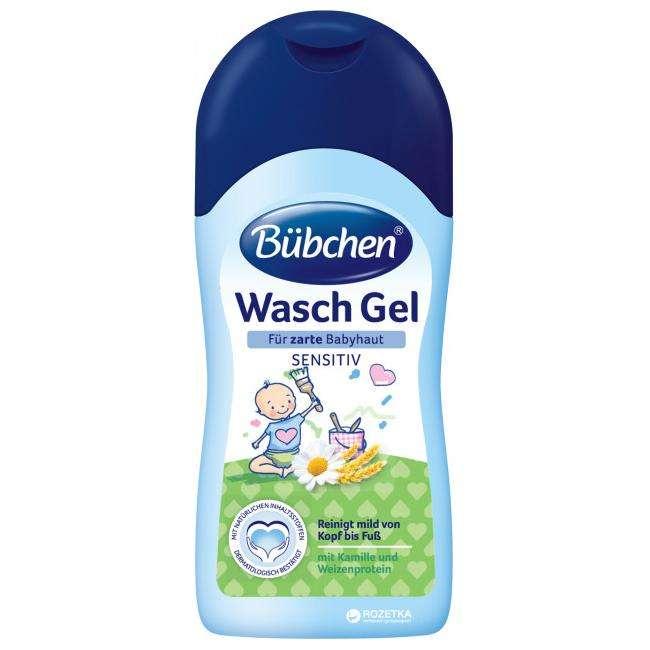 Bubchen Wash Gel Gels zīdaiņa mazgāšanai, 50ml