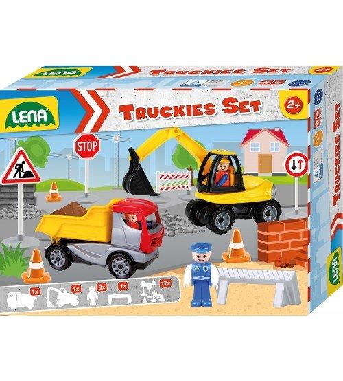 Būvlaukums LENA Truckies Set