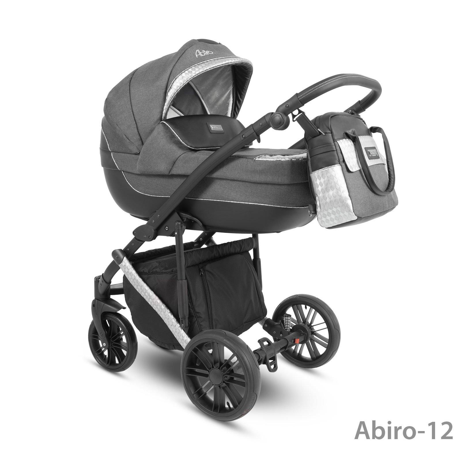 Camarelo Abiro Abiro-12 Bērnu rati 3in1