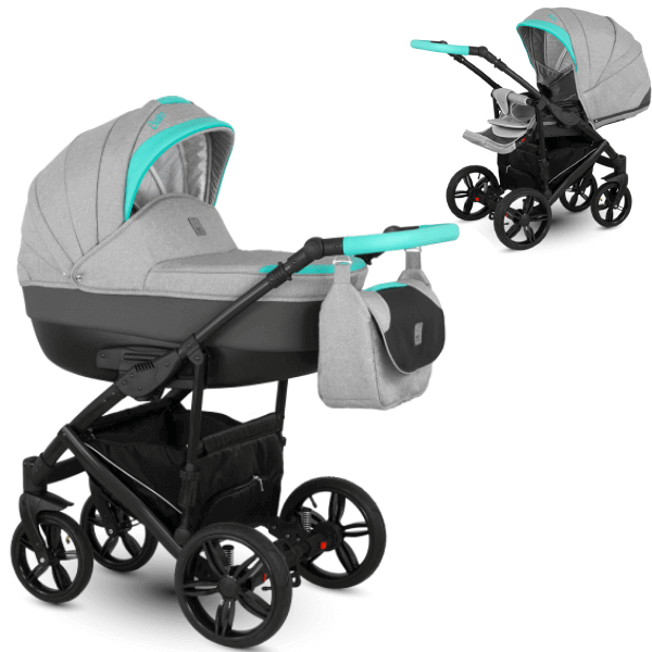 Camarelo Baleo BA-3 Bērnu rati 2in1