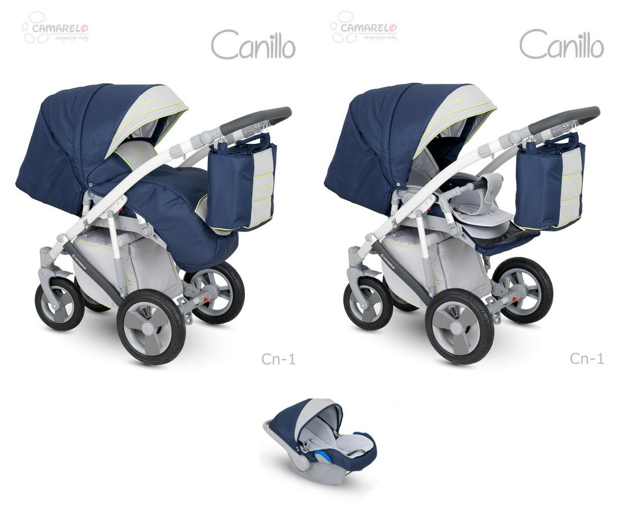 Camarelo Canillo CN-1 Bērnu rati 3in1