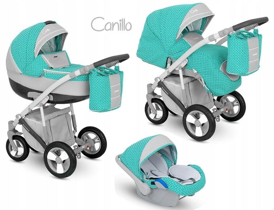 Camarelo Canillo CN-2 Bērnu rati 3in1