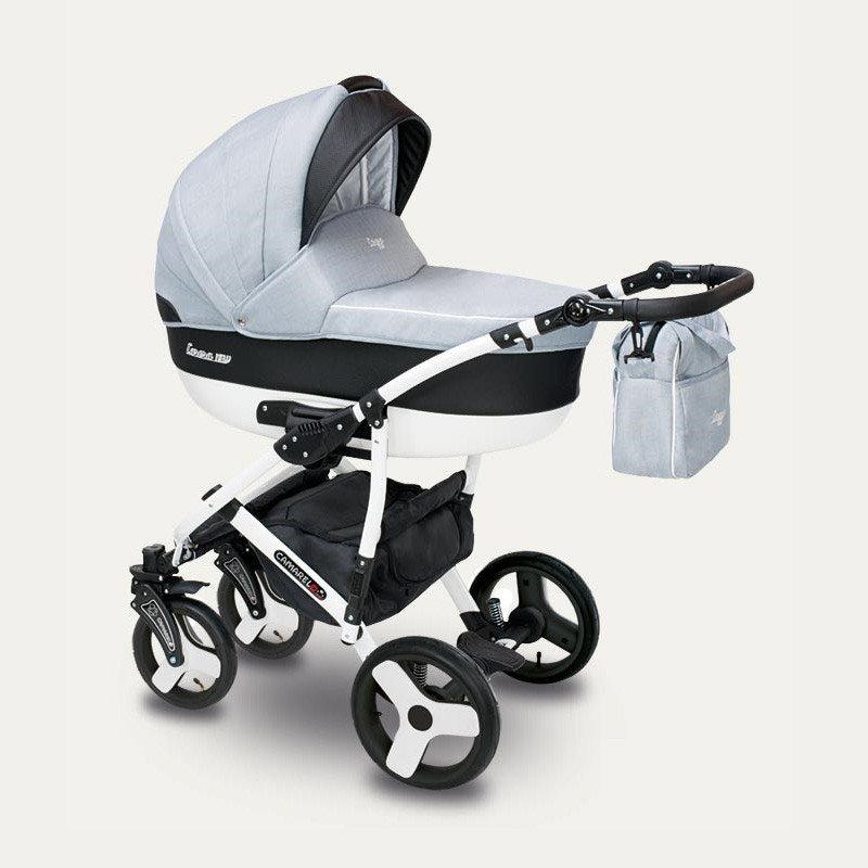Camarelo Carera New CAN-2 Bērnu rati 3in1
