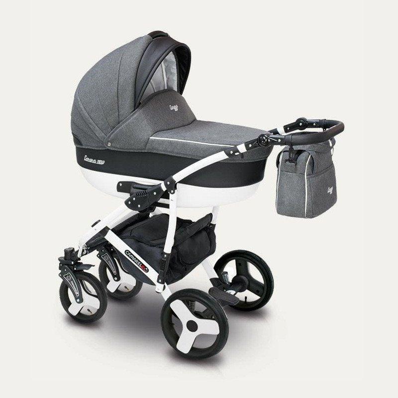 Camarelo Carera New CAN-3 Bērnu rati 3in1