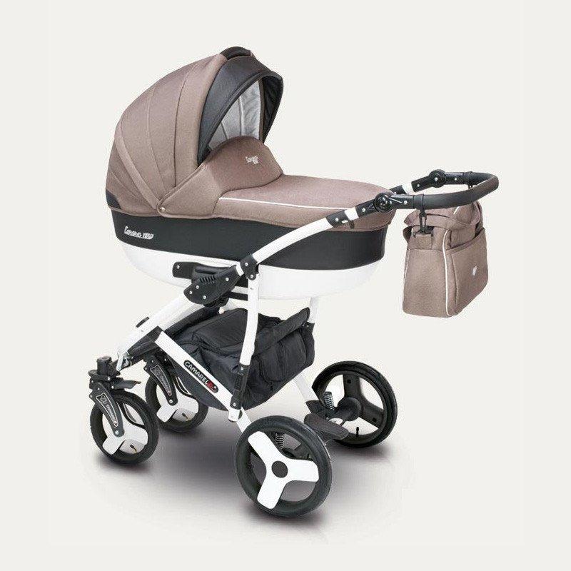 Camarelo Carera New CAN-5 Bērnu rati 3in1