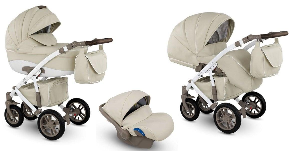 CAMARELO Sirion Eco 3in1 SIE-1 Bērnu ratiņi 3 in 1