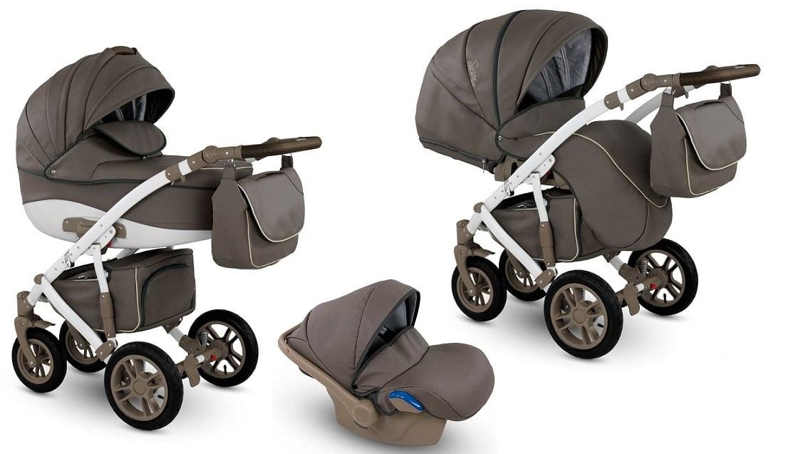 CAMARELO Sirion Eco 3in1 SIE-2 Bērnu ratiņi 3 in 1