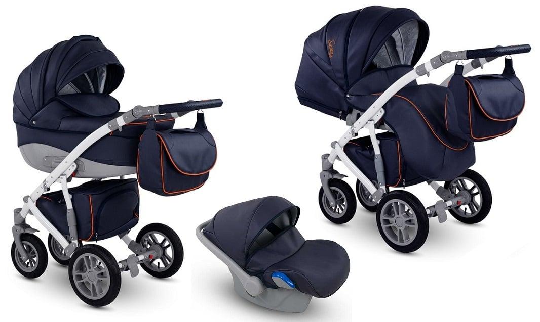 CAMARELO Sirion Eco 3in1 SIE-3 Bērnu ratiņi 3 in 1