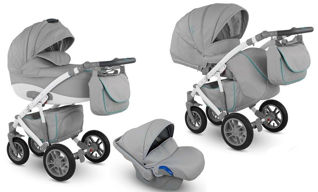 CAMARELO Sirion Eco 3in1 SIE-4 Bērnu ratiņi 3 in 1