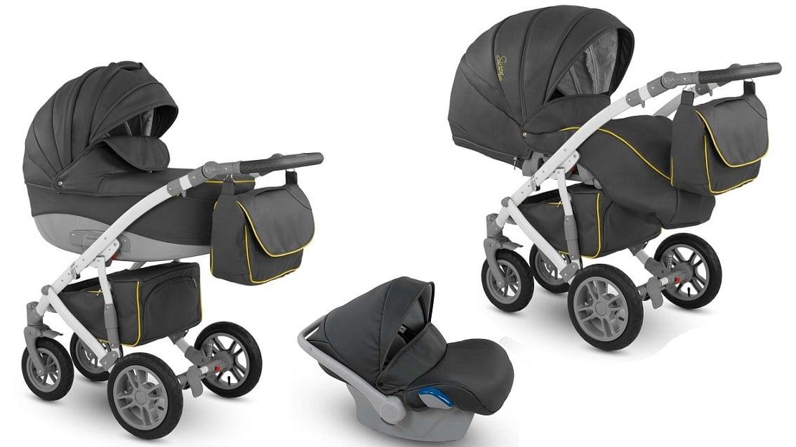 CAMARELO Sirion Eco 3in1 SIE-5 Bērnu ratiņi 3 in 1