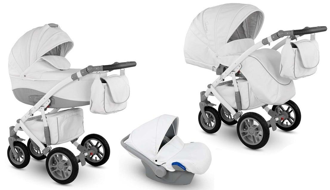 CAMARELO Sirion Eco 3in1 SIE-6 Bērnu ratiņi 3 in 1