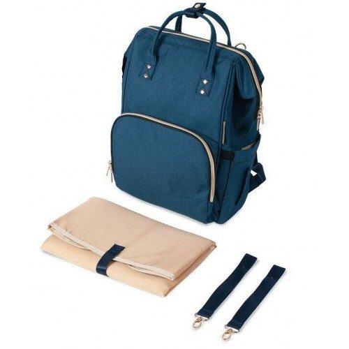Canpol Babies Blue Māmiņas mugursoma - ratiņu soma