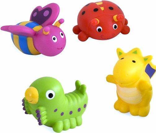 Canpol Babies Vannas rotaļlietas Dzīvnieciņi 4 gb. komplektā