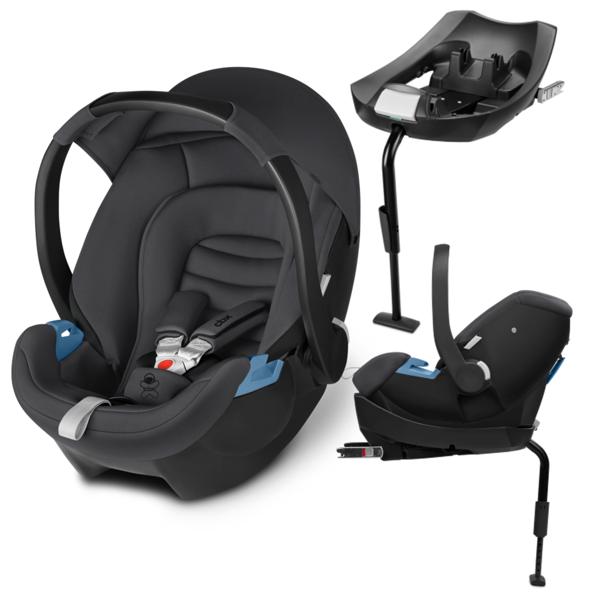 Cbx by Cybex Aton + ISOFIX Base 2-Fix Comfy Grey Bērnu autosēdeklis 0-13 kg