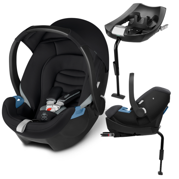 Cbx by Cybex Aton + ISOFIX Base 2-Fix Cozy Black Bērnu autosēdeklis 0-13 kg