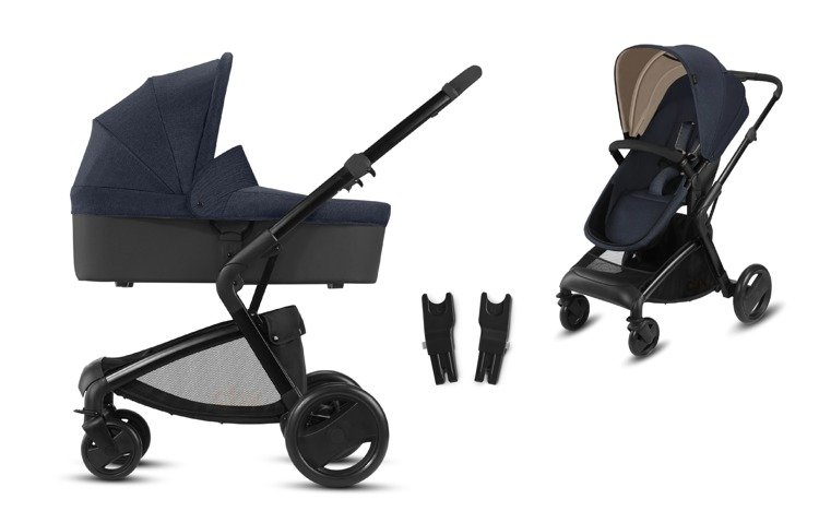 CBX by Cybex Bimisi Pure Jeansy Blue Bērnu rati 2in1